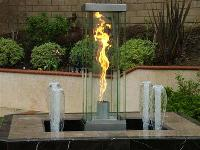 Water And Fire Fountain