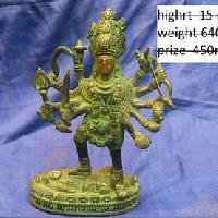 Brass Kali Statues