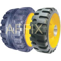 Paver Finisher Solid Tyre