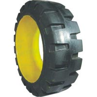 Press-on Band Solid Tyres