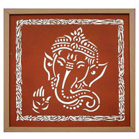 Shri Ganesh Wall Painting