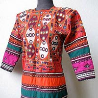 Vintage Hand Embroidery Dress