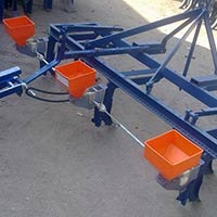 Cotton Seed Drill Tractor Oprated
