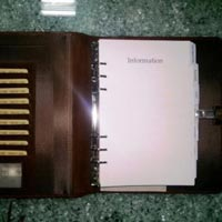 Leather Organizer Covers