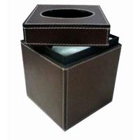 Tissue Box - Exporters,  Delhi - Rs Leather