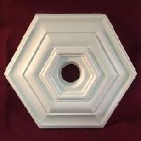 Hexagonal Ceiling Rose