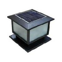 Led Solar Pillar Light