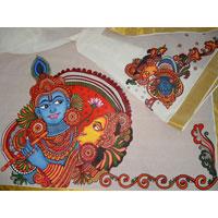Mural Paintings Sarees