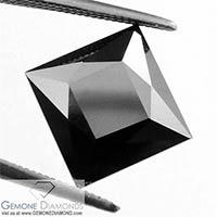 Black Diamond Princess Cut Excellent Quality