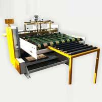 Semi Auto High Speed Flap Gluing Machine