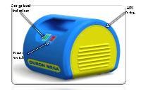 Duron Mega - Dc Battery Charger