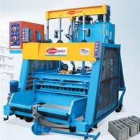 Automatic Concrete Block Making Machine