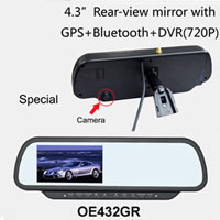 Car Rear View Mirror Monitor