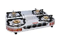 4 Step Gas Burner