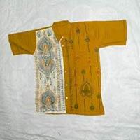Cotton T Shirt  with Kantha Stich Work