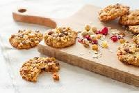 Fruit And Almond Cookies