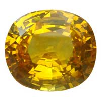 Yellow Sapphire Stone