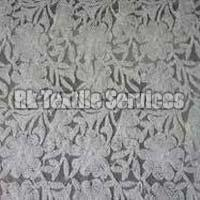 Dyeable Net Embroidered Fabrics
