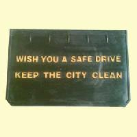 Rubber Mud Flaps - (rmf-05)