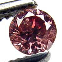Brownish Pink Color Diamond