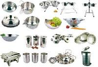 Stainless Steel Kitchenware 01 - Manufacturer, Exporters and Wholesale Suppliers,  Maharashtra - Shivkumar Exports