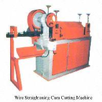 Wire Straightening and Cutting Machine