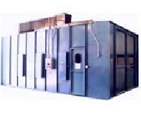 Side Draft Spray Painting Booth