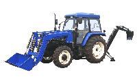 tractor mounted backhoe