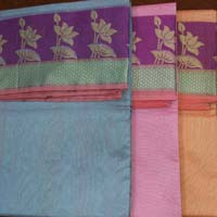 Saree- Lotus Plain