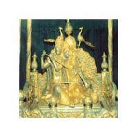 Golden Religious Statues