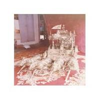 Silver Krishna Statues