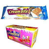 Vanilla Cream Bite Sandwich Biscuits