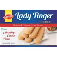 Butter Cookies Lady Fingers