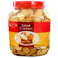 Salted Cream Crackers / Crunchy Crackers