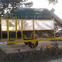 Mobile Potato Grater Machine