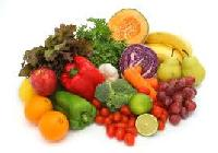 Organic Fruits, Vegetables