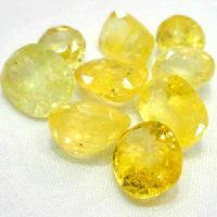 Yellow Sapphire Gemstone Beads