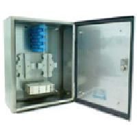 Outdoor Wall Mount Stainless Steel Fiber Optic Patch Panel