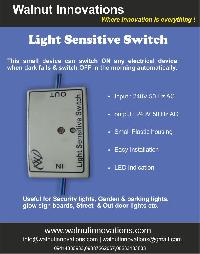 Light Sensitive Day Night Switch
