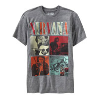 Men's Nirvana Graphic Tees