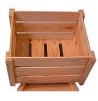 Jungle Wood Crates