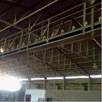Overhead Belt Conveyor System