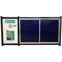 Hydroponics Fodder Machine
