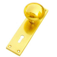 Brass Door Lock Handle