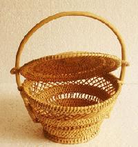 Wooden Craft Baskets