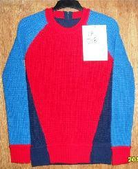 Ladies Contrast Sleeves Sweater