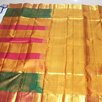 Kanjivaram Handloom Silk Saree