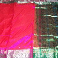 Semi Paithani Silk Saree
