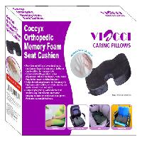Coccyx Orthopedic Memory  Foam Seat Cushion