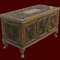 Kashmir Walnut Wood Carved Furniture Manufacturer Offered
